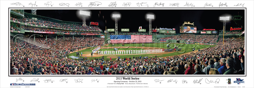 2013 World Series-with Sigs