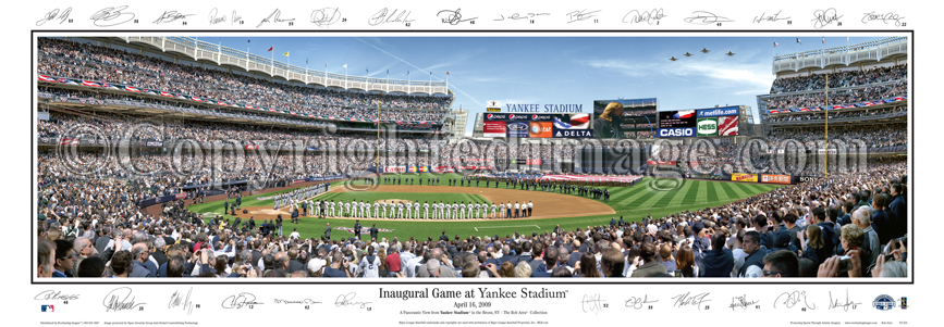 Inaugural Game at Yankee Stadium