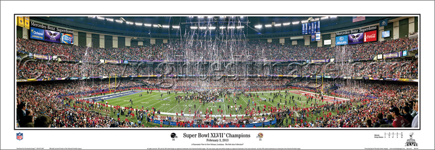 Super Bowl XLVII Celebration