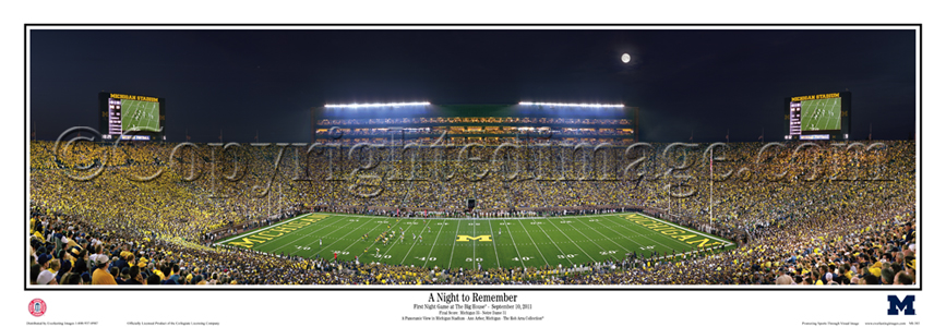 A Night to Remember - First Night Game at The Big House