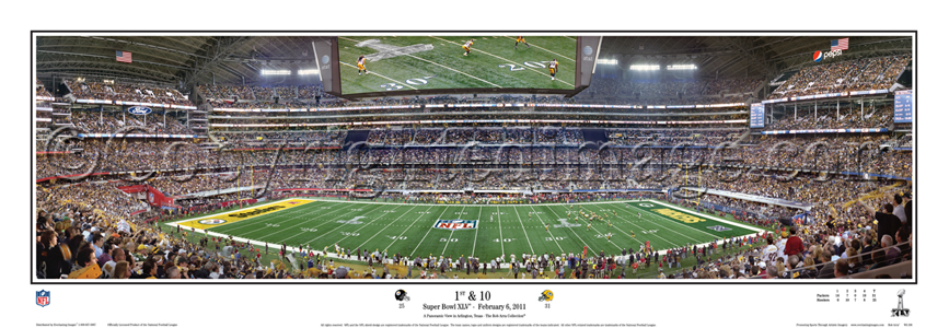 First & Ten - Super Bowl XLV