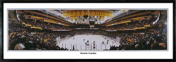 Everlasting Images Boston Bruins Boston Garden Black Framed Photograph