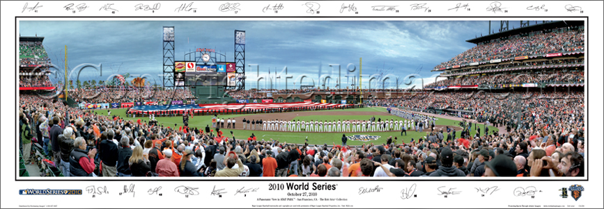 2010 World Series with Sigs
