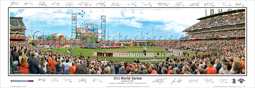 2012 World Series-with Sigs