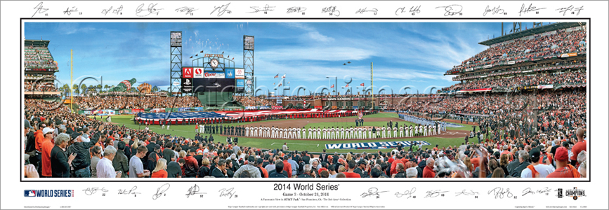 2014 World Series - with Sigs