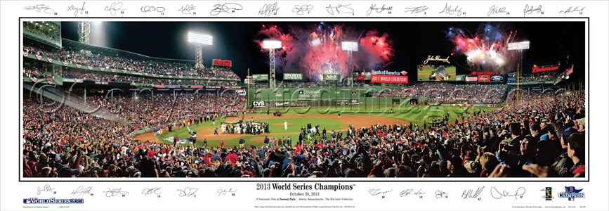 2013 World Series Champions -with Sigs