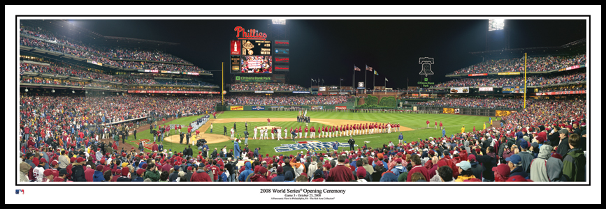 2008 World Series Line Up