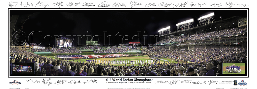 2016 World Series Champions - with Sigs