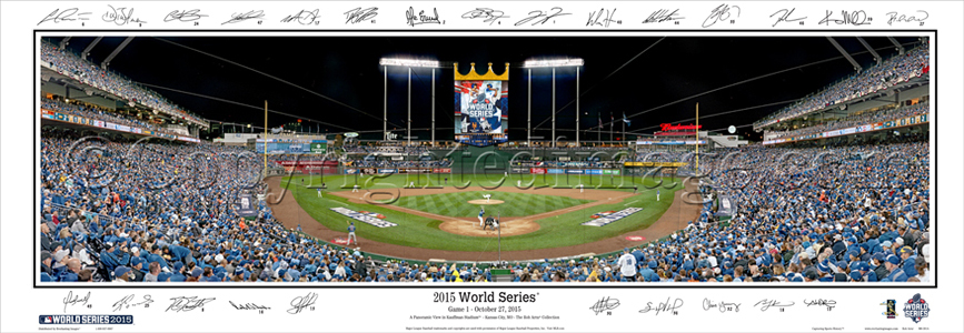 2015 World Series - with Sigs