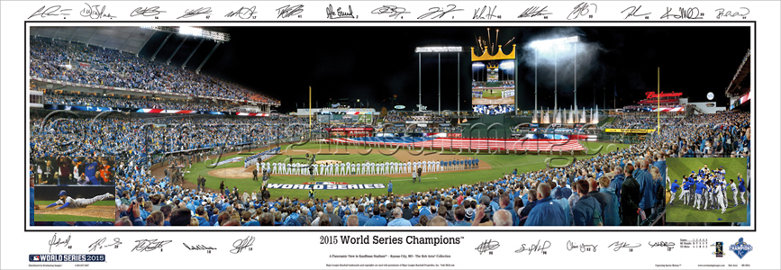 2015 World Series Champions - with Sigs